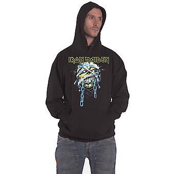 Iron maiden huppari Powerslave Band logo uusi virallinen miesten musta Pullover