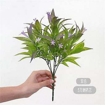Cheap all kinds of aquatic plants eucalyptus plastic artificial plants green grass plastic flowers wedding home decoration table