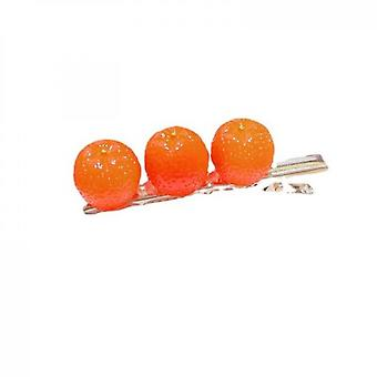 Five-piece Set Of Broken Fruit Hairpins On The Side