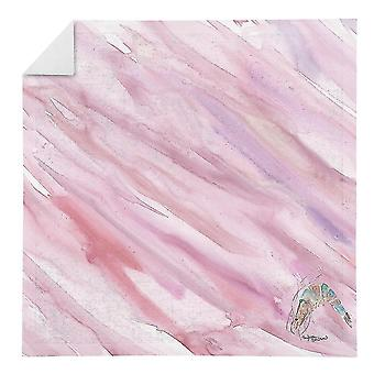 Kitchen towels carolines treasures sc2058nap shrimp on pink napkin