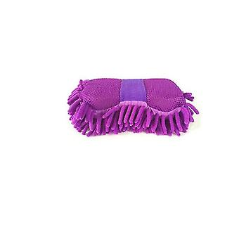 Outdoor chairs 2pcs car hot microfiber chenille anthozoan cleaning sponge soft towel cloth wash gloves