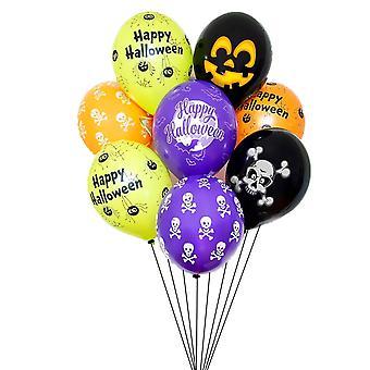 Homemiyn 35 stuks Halloween ballon set 12 inch ballon Halloween decoratie vakantie feest decoratie