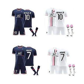 Mbappe,neymar Psg Jersey,paris Team T-shirt-mbappe-neymar, Paris Team (child Clothing)