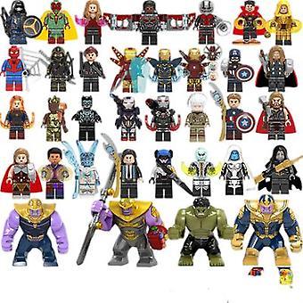 Avengers Bouwstenen Minifiguur Geassembleerd Speelgoed