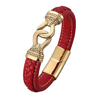 Vintage Woven Golden Clasp Bracelet