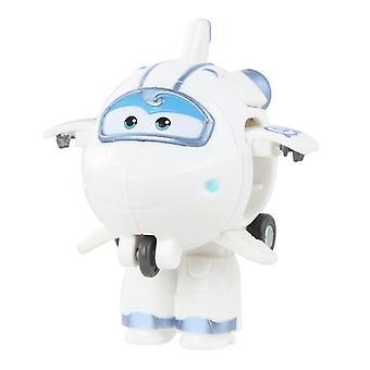 Original Box Mini Super Wings Transformation Robot Leksaker
