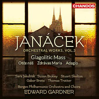 Janacek, Leos / Jakubiak, Sara / Gardner, Edward - Jancek: Orchestral Works 3 [SACD] USA import