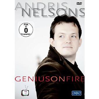 Genius on Fire [DVD] USA import