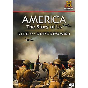 America: The Story of Us - Rise of a Superpower [DVD] USA import