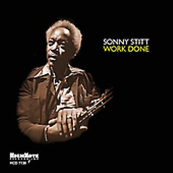 Sonny Stitt - Work Done [CD] USA import