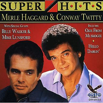 Merle Haggard y Conway Twitty - Super Hits [CD] USA importar