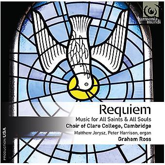 Jorysz, Matthew / Harrison, Peter / Ross, Graham - Requiem - Music for All Souls & All Saints [CD] USA import