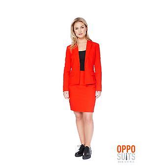 Red Ruby Miss red red suit Opposuits ladies costume Slimline 2 premium EU SIZES