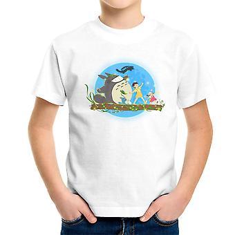 Hakuna Totoro mein Nachbar Studio Ghibli Kinder T-Shirt