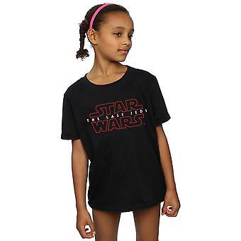 Звезды войны девочек последние Jedi логотип T-Shirt