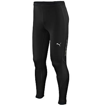 PUMA Herren Long Tights [Schwarz]