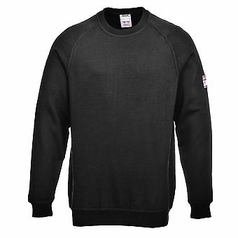 Portwest - Flame Resist Anti-Static Long Sleeve Sweatshirt