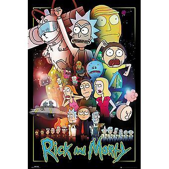 Rick und Morty Wars Maxi Poster 61x91.5cm