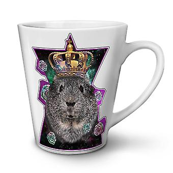 Hamster King Beast NEW White Tea Coffee Ceramic Latte Mug 12 oz | Wellcoda