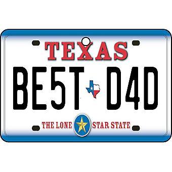 Texas - beste pappa nummerskilt bil Air Freshener
