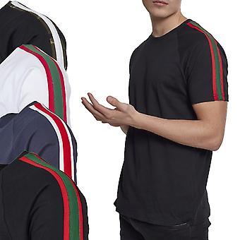 Urban classics - raita olkapää Raglan paita