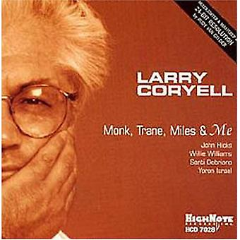 Larry Coryell - Monk Trane Miles & Me [CD] USA import