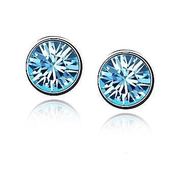 Blu cielo Womes Stud orecchini gioielli