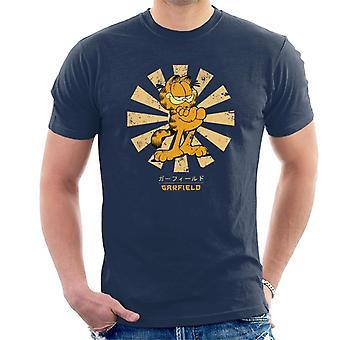 Garfield Retro japanische Männer T-Shirt