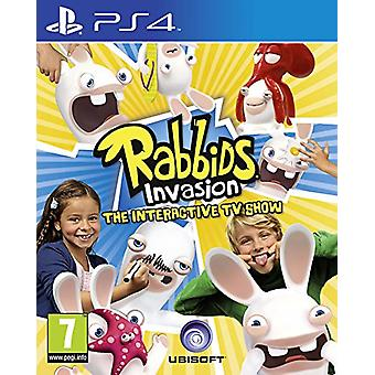Rabbids Invasion The Interactive TV Show (PS4) - New