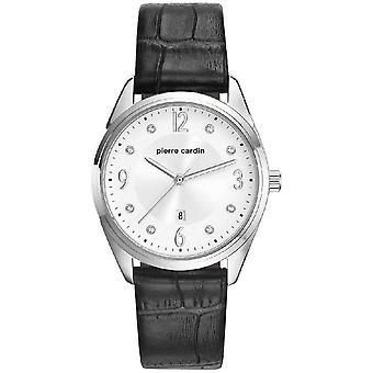 ピエール ・ カルダン レディース時計腕時計 Bourse 革 PC107862F01