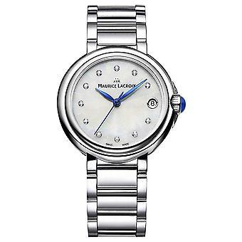Maurice Lacroix naisten Fiaba 32mm Diamond asettaa rannekello FA1004-SS002-170-1 Watch