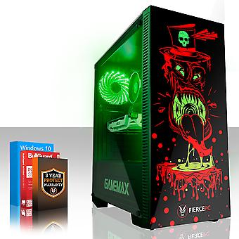 Fierce GOBBLER Gaming PC, Intel Core i7 7700 4.2GHz, 120GB SSD, 1TB HDD, 8GB RAM, GTX 1660 Ti 6GB
