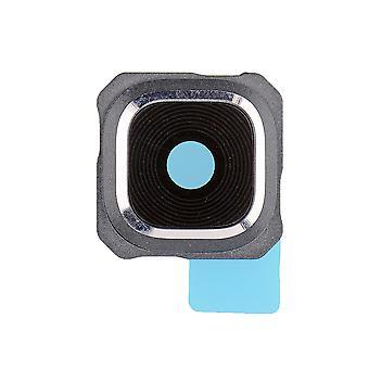 Sølv kameralinsen & ramme Samsung Galaxy S6 Edge pluss