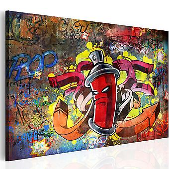 Canvas Print - Graffiti master