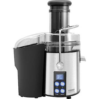 CASO juicer PJ 800 800 W rustfrit stål, sort med display