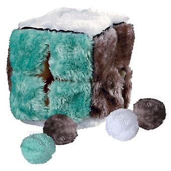 Trixie Plush Cube With Catnip Balls (Cats , Toys , Plush & Feather Toys)