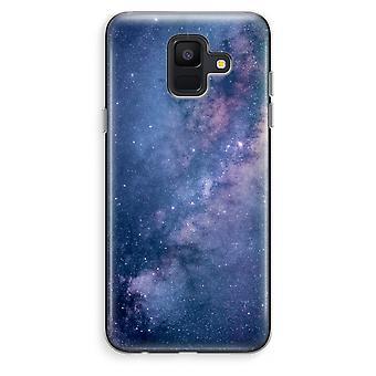 Samsung Galaxy A6 (2018) transparentes Gehäuse (Soft) - Nebel