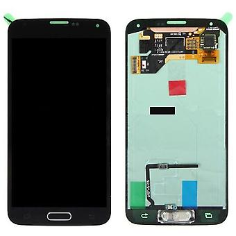 LCD Display & Touch Screen Digitizer Assembly Replacement for Samsung Galaxy S5 (Black)