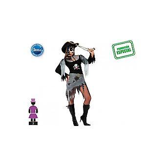 Vrouwen kostuums piraat zombie kostuum