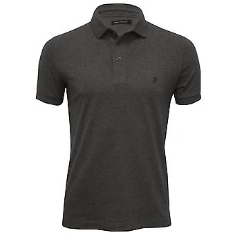 Ranskan yhteys Classic Jersey Polo-paita, Charcoal Melange