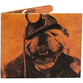 Paper Wallet The Miner Slim Wallet - Brown