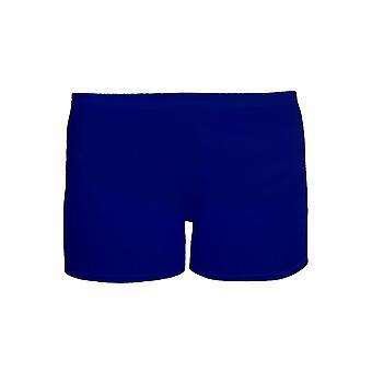 Flickorna bomull Lycra Stretch Gym killar dans barns Neon hotpants Shorts