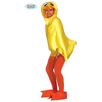 Squeaker Ducky duck costume for adult unisex Carnival
