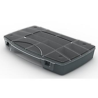 Boîte avec le stockage de plateau