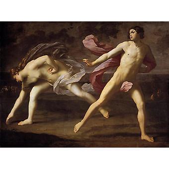 Atalanta and Hippomenes, Guido Reni, 50x40cm