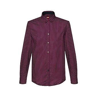 Merc Siegel Polka Dot Mens Regular Fit Shirt  100%  Cotton