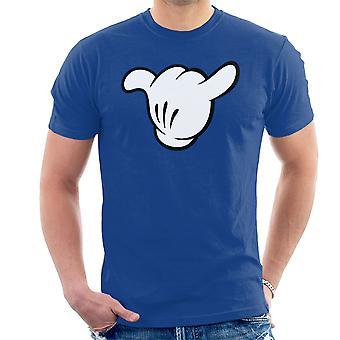 T-Shirt Mickey handen Shaka mannen terug