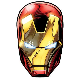 Iron Man fra Marvel's The Avengers Single Card Party Fancy Dress Mask