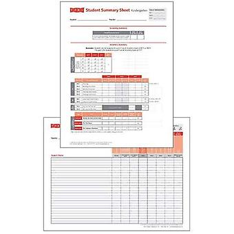 Student Record and Class Summary Sheets: Kindergarten