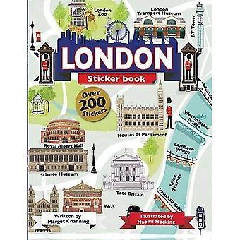 London Sticker Book (The Scribblers Fun Activity)